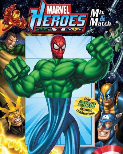 Marvel Heroes Mix & Match (Board book)