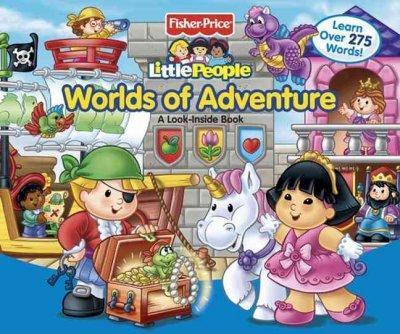 Worlds of Adventure: A Look-Inside Book (Board book)