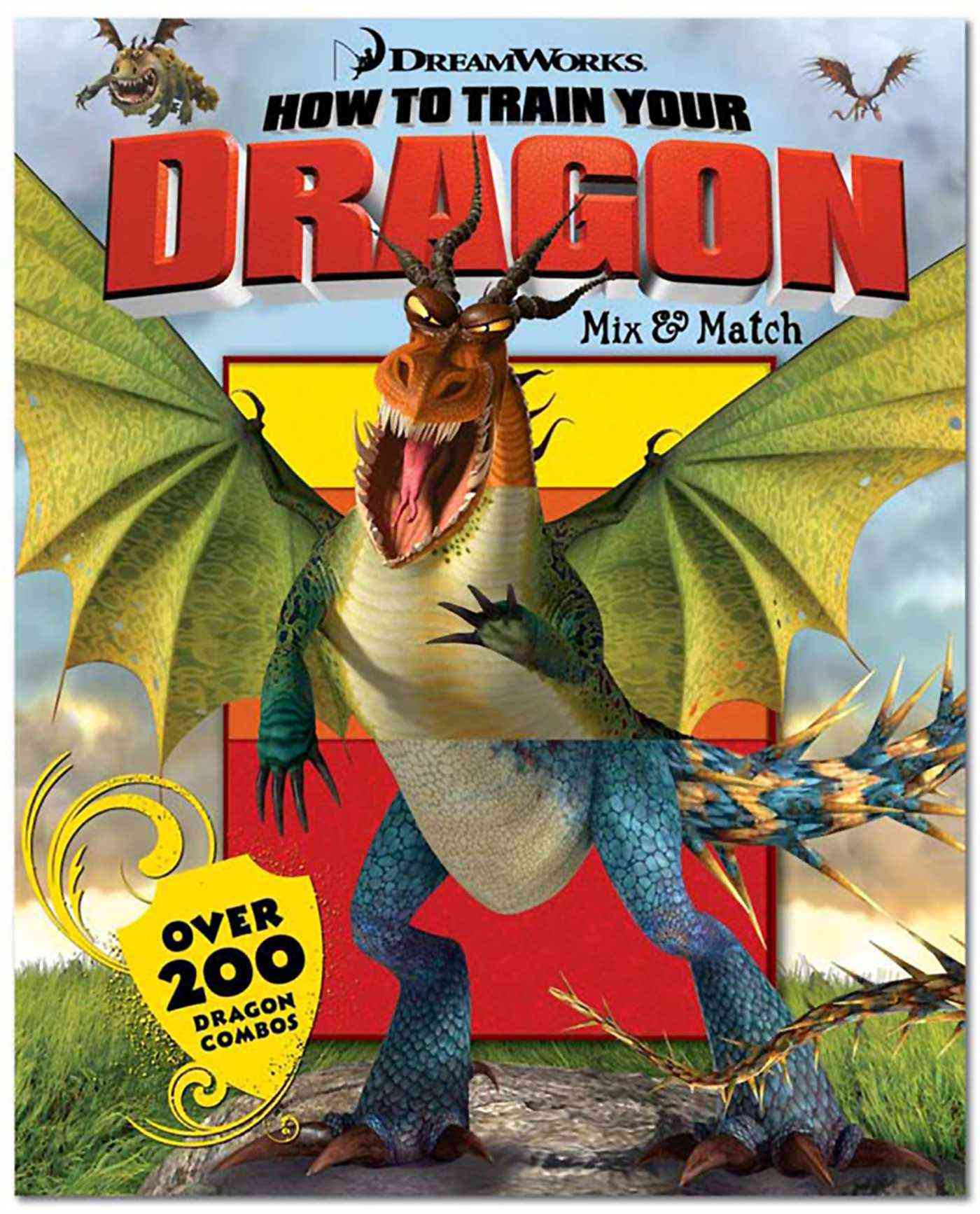 How to Train Your Dragon Mix & Match (Board)