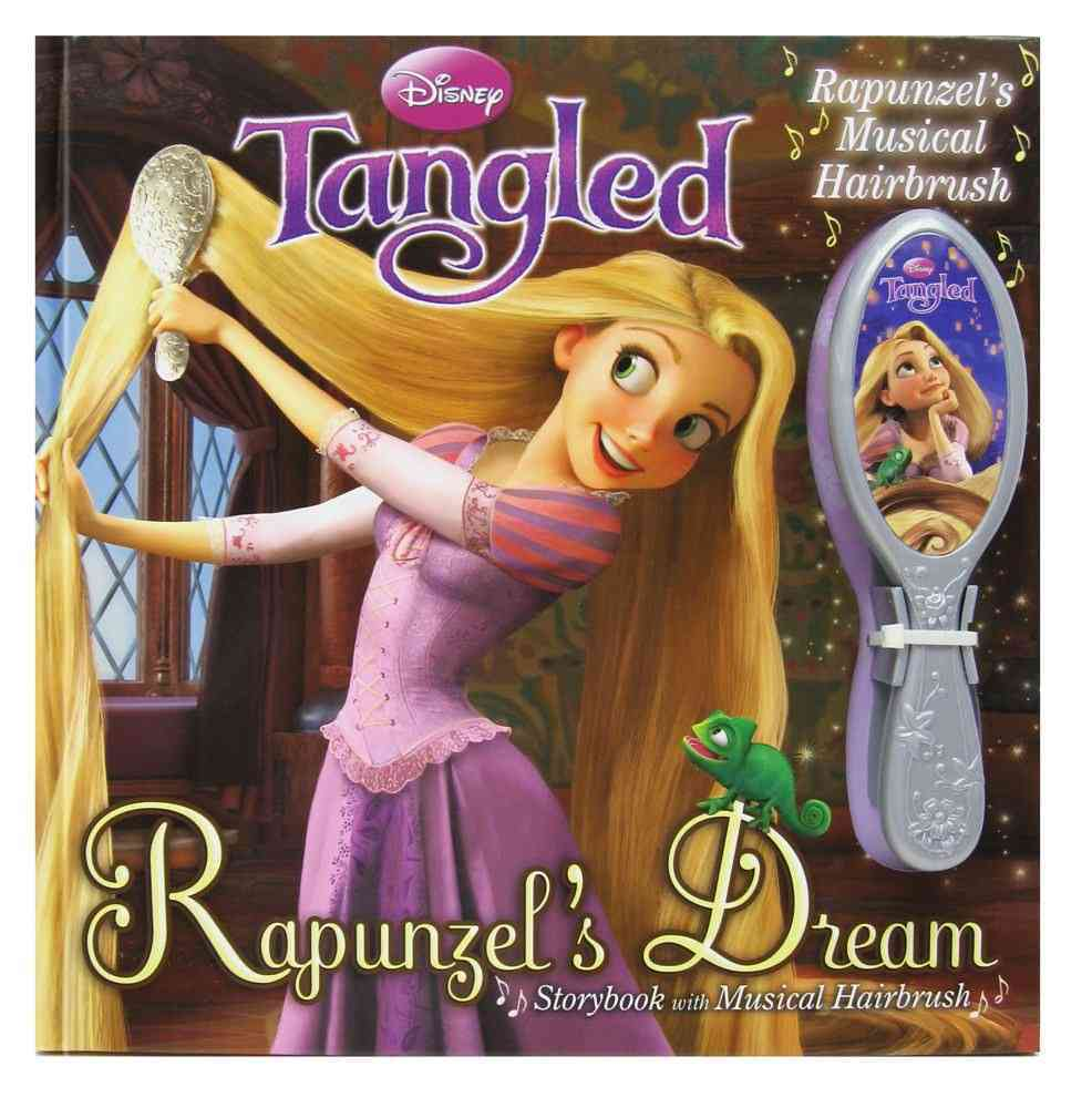 Rapunzel's Dream Storybook With Musical Hairbrush