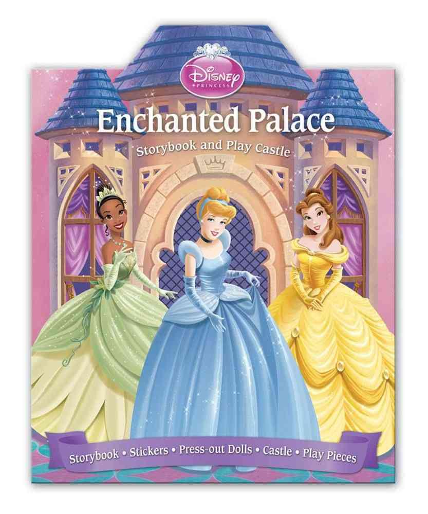 Disney Princess Enchanted Palace Storybook and Play Castle (Hardcover)
