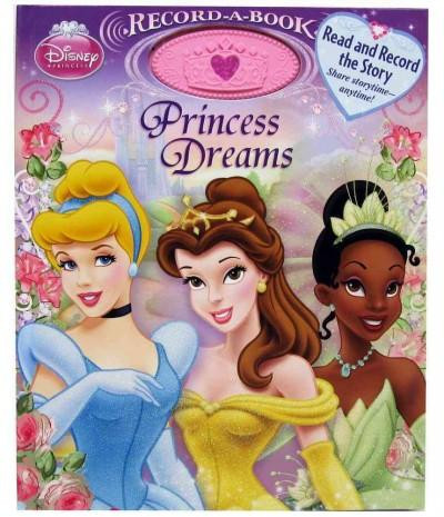 Princess Dreams Record-a-Book (Hardcover)