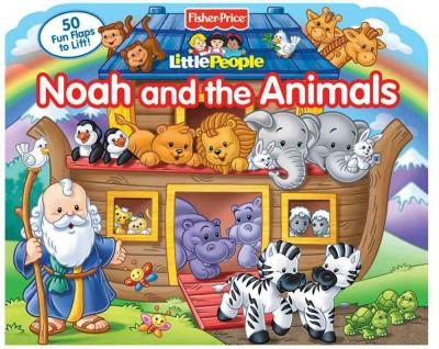 Noah and the Animals (Board book)