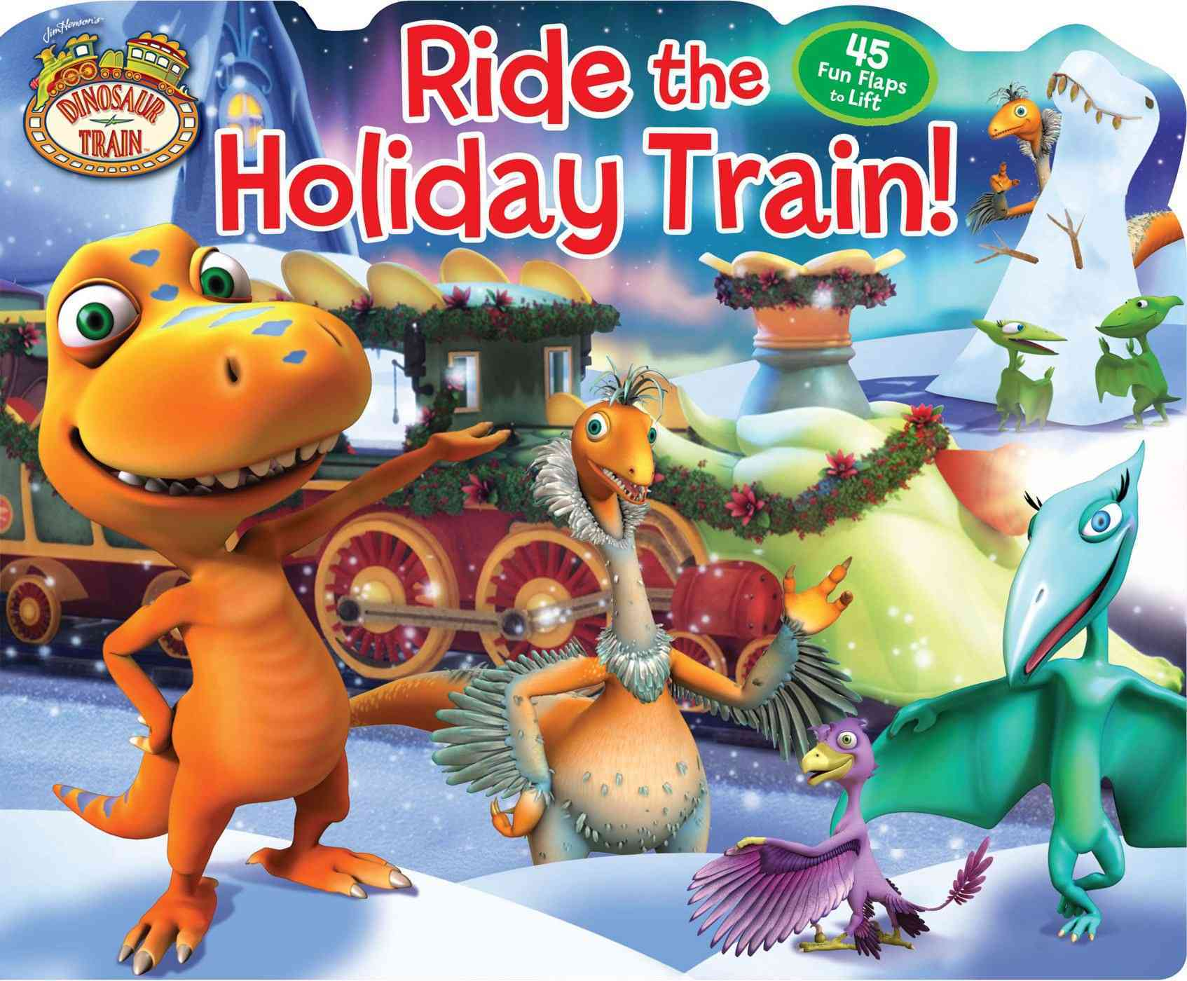 Ride the Holiday Train! (Board book)