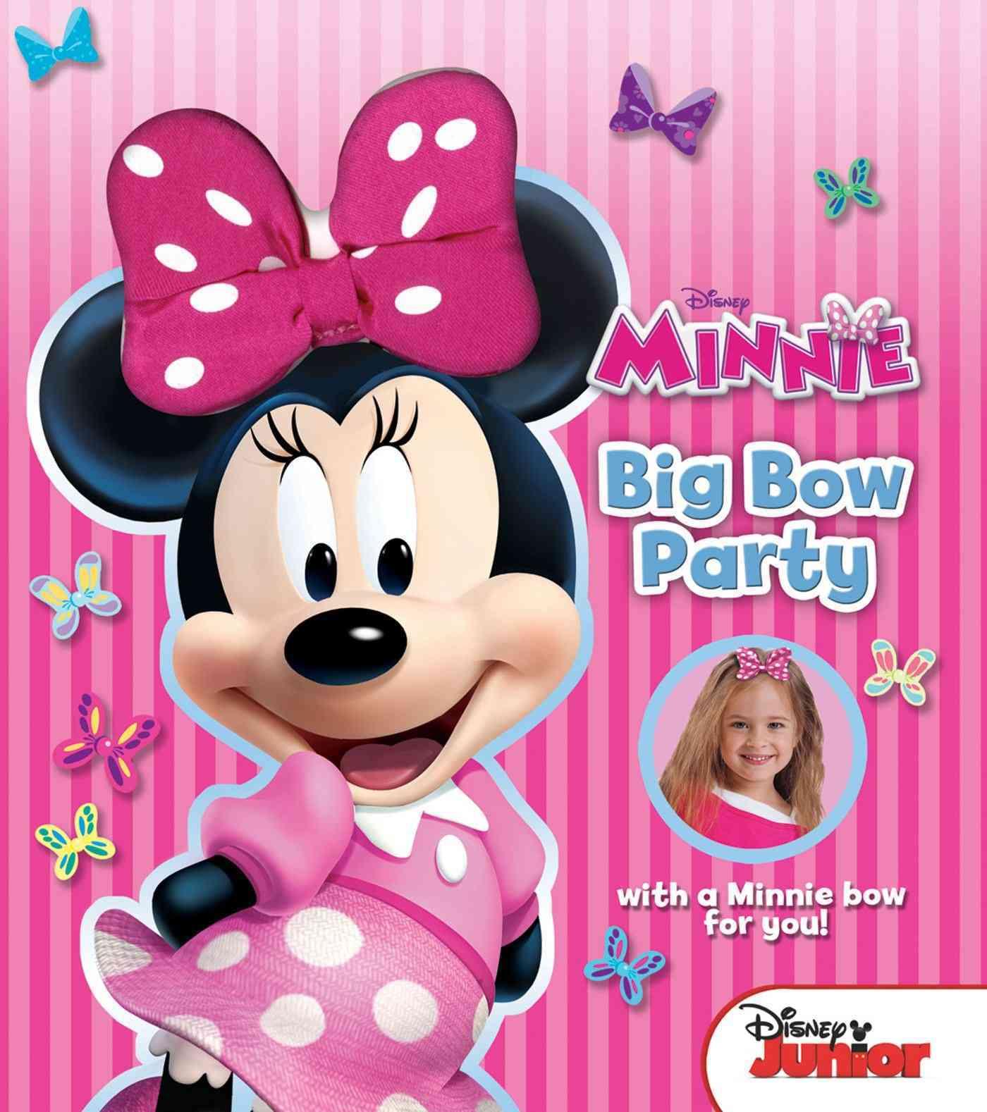 Disney Minnie Big Bow Party (Hardcover)