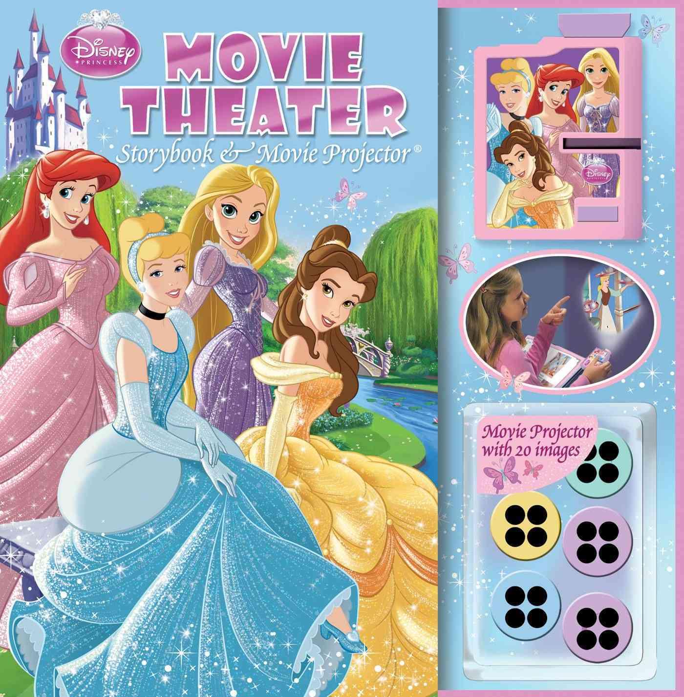 Disney Princess Movie Theater Storybook (Hardcover)