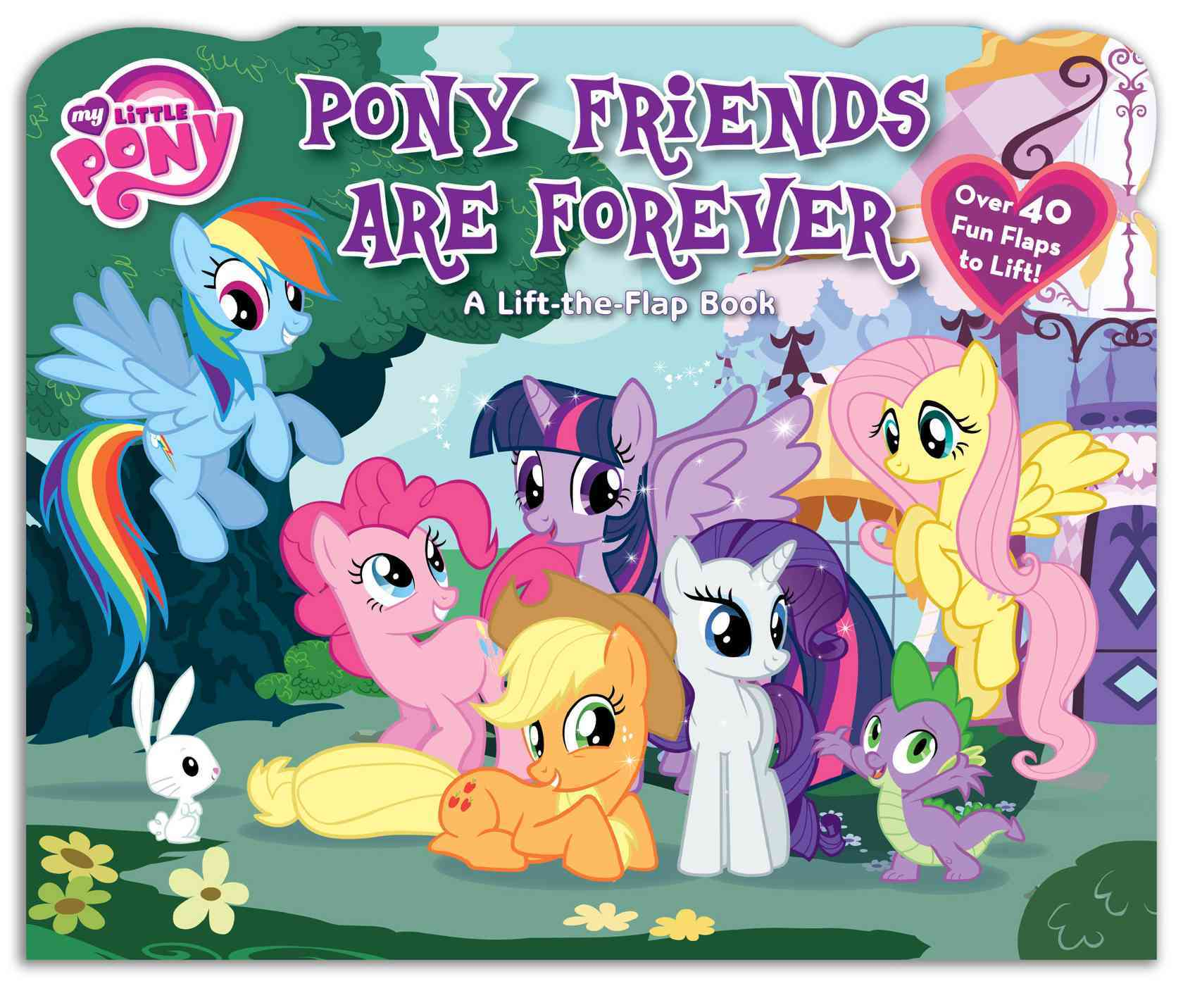 Pony Friends Are Forever (Board book)