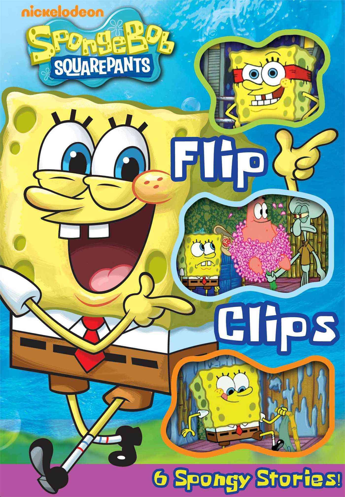 Spongebob Squarepants Flip Clips (Hardcover)