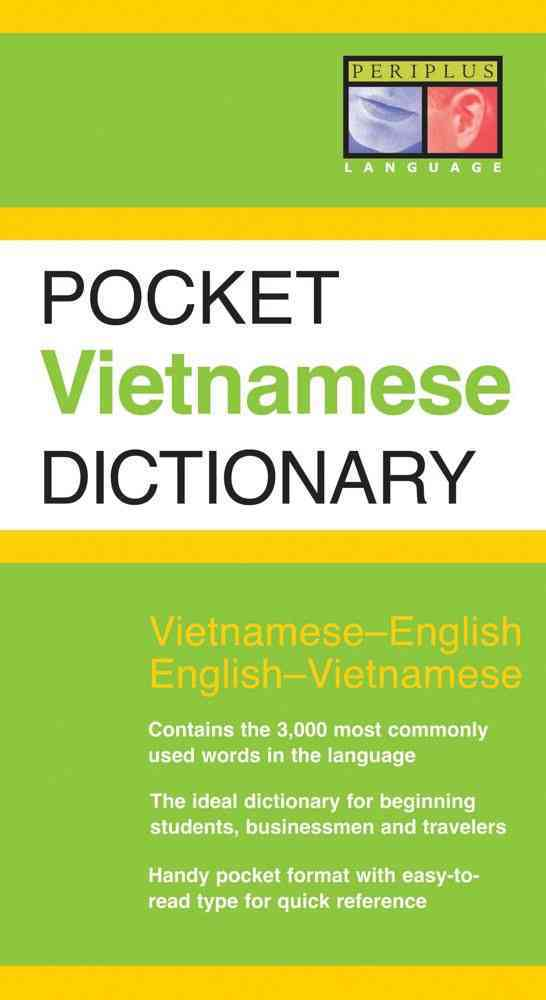 Pocket Vietnamese Dictionary: Vietnamese-English and English-Vietnamest (Paperback)