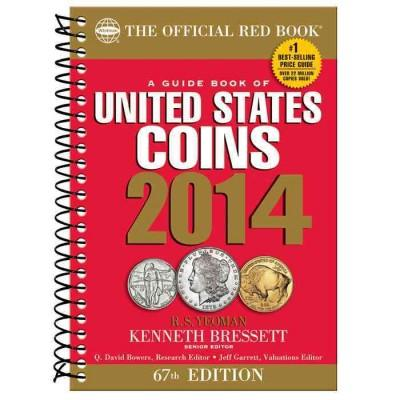 A Guide Book of United States Coins 2014: The Official Red Book (Paperback)