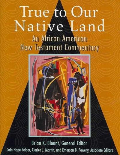 True to Our Native Land: An African American New Testament Commentary (Hardcover)
