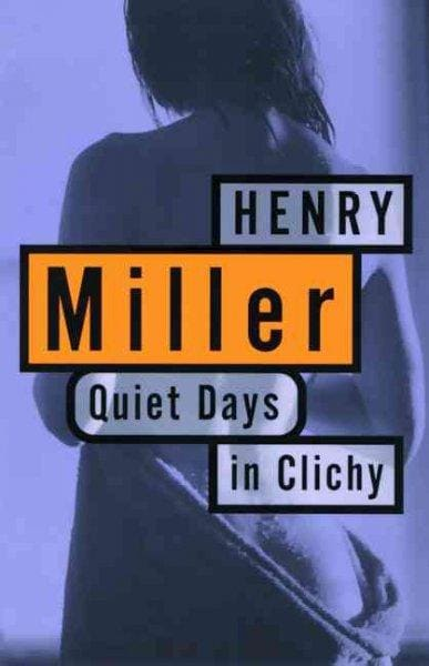 Quiet Days in Clichy (Paperback)