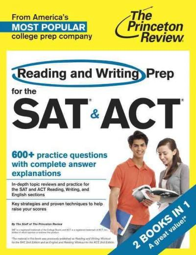 The Princeton Review Reading and Writing Prep for the SAT & ACT (Paperback)