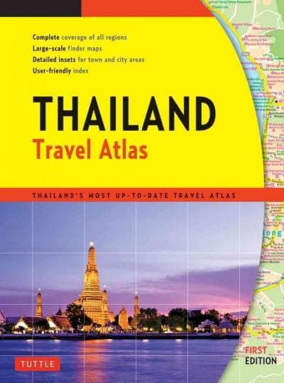 Thailand Travel Atlas (Paperback)