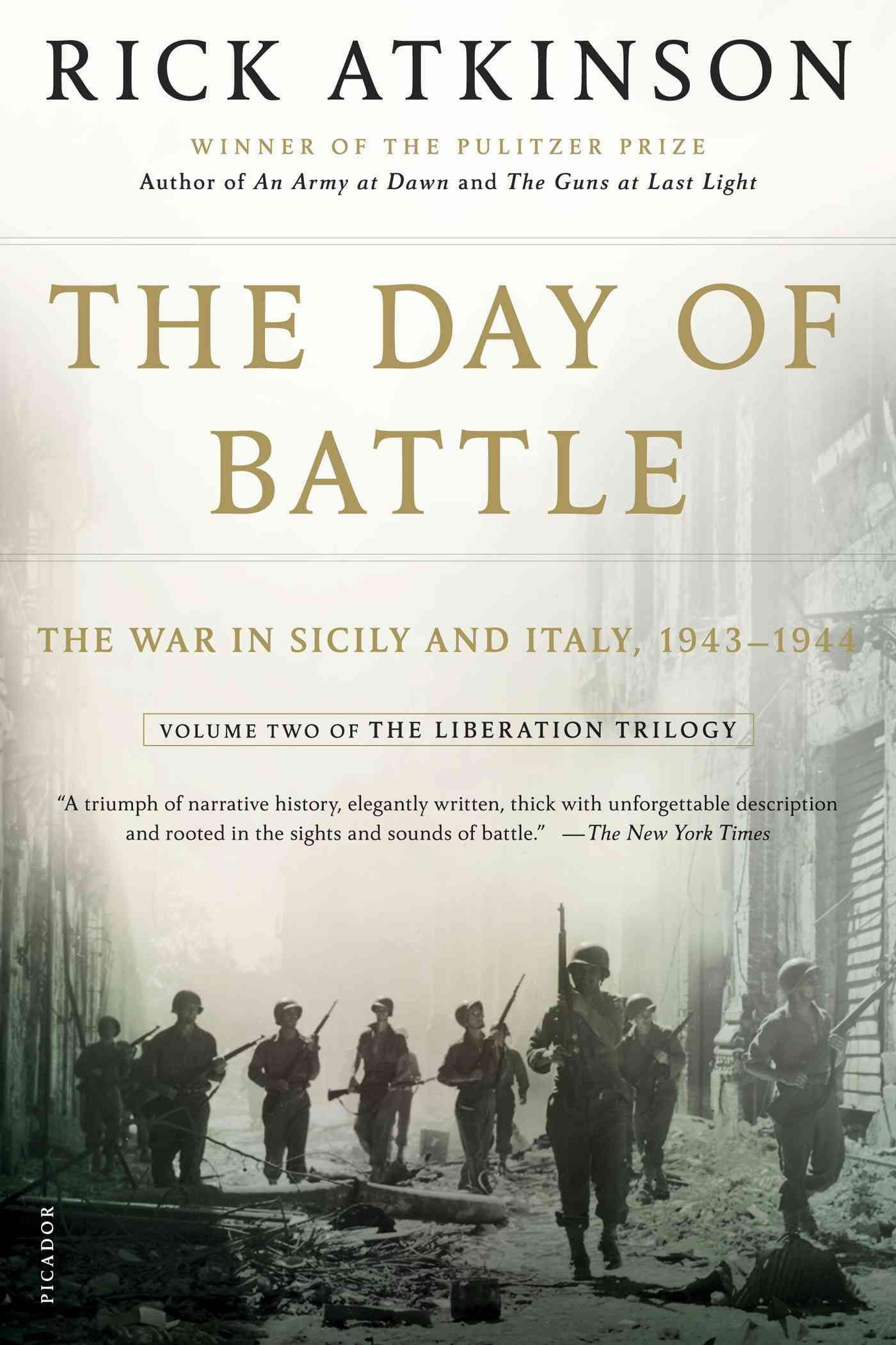 The Day of Battle: The War in Sicily and Italy, 1943-1944 (Paperback)