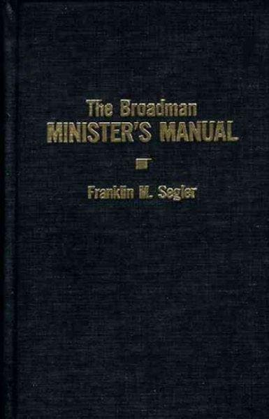 Broadman Minister's Manual (Hardcover)