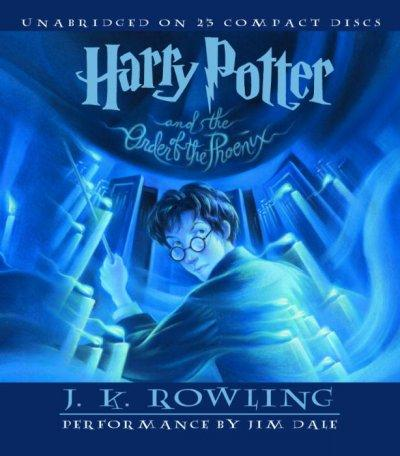Harry Potter and the Order of the Phoenix (CD-Audio)