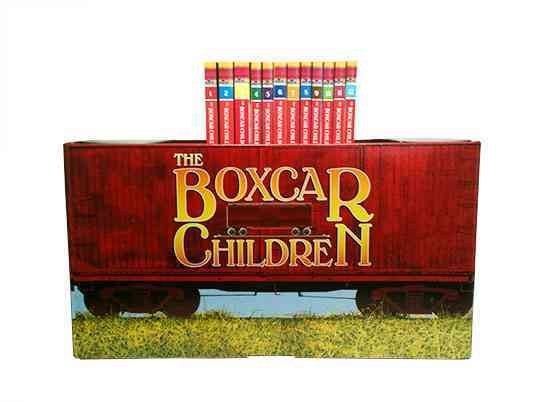 Boxcar Mysteries Bookshelf (Paperback)
