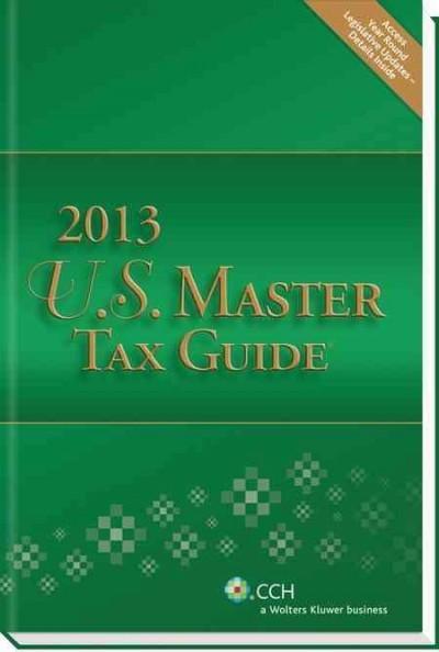 U.S. Master Tax Guide 2013 (Paperback)