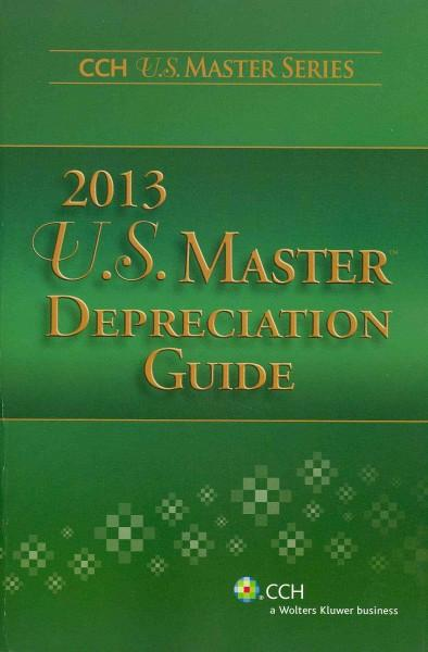 U.S. Master Depreciation Guide 2013 (Paperback)