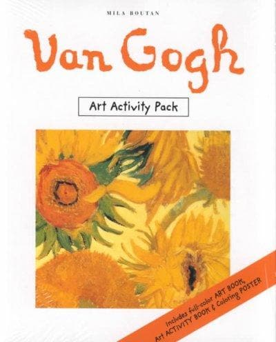 Van Gogh Art Activity Pack (Paperback)
