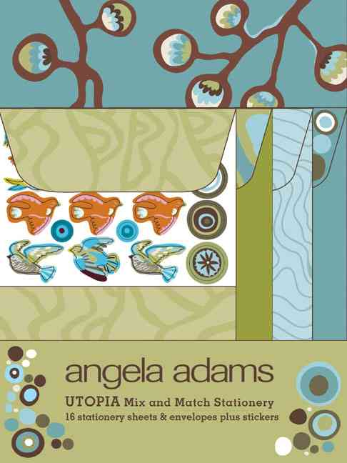 Utopia: Mix and Match Stationery, Green (Paperback)