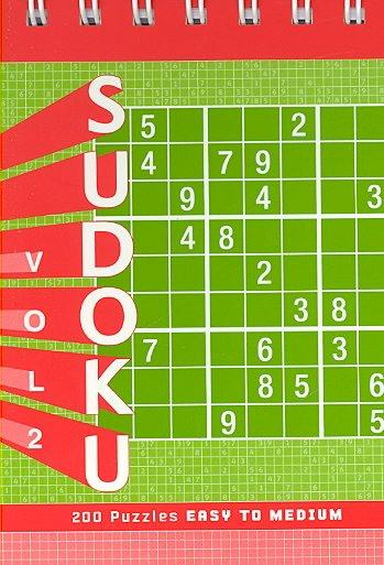 Sudoku Puzzle Pad: Easy to Medium (Hardcover)