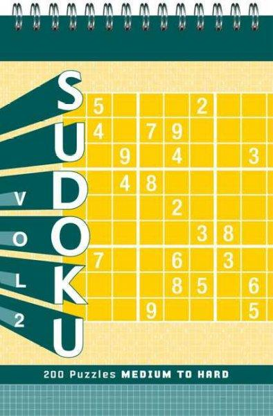 Sudoku Puzzle Pad: Medium to Hard (Hardcover)