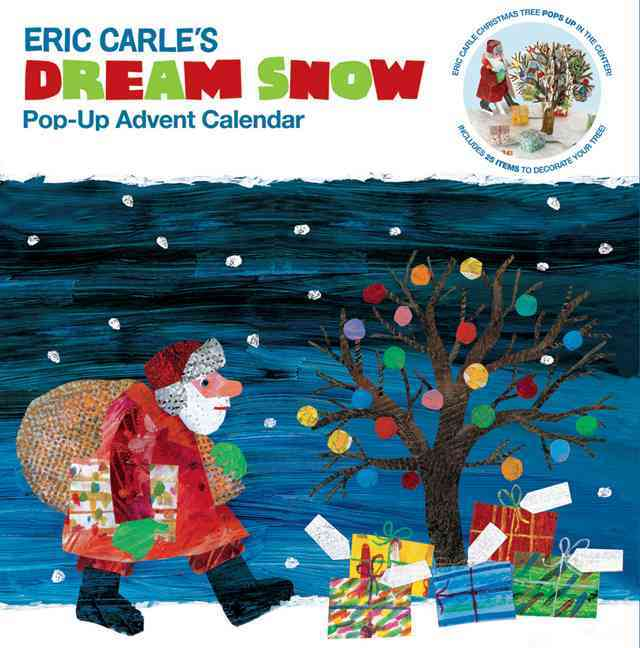 Eric Carle Dream Snow Pop-up Advent Calendar (Paperback)