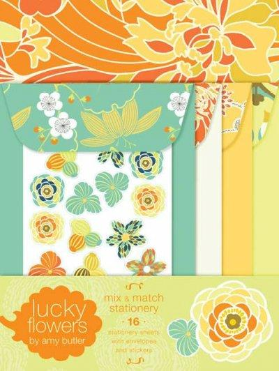 Lucky Flowers Mix & Match Stationery (Cards)