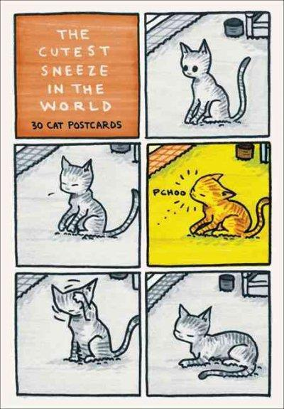 The Cutest Sneeze in the World: 30 Cat Postcards (Postcard book or pack) - Thumbnail 0