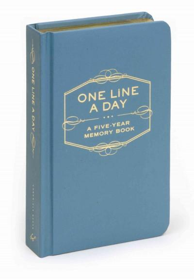 One Line a Day: A Five-year Memory Book (Notebook / blank book) - Thumbnail 0