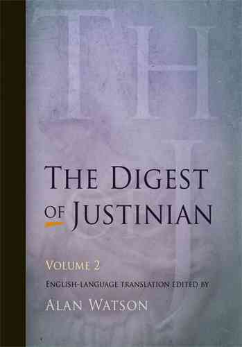 The Digest of Justinian (Paperback)