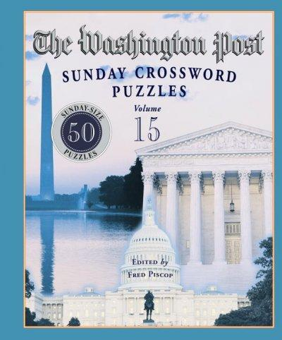 The Washington Post Sunday Crossword Puzzles (Paperback) - Thumbnail 0