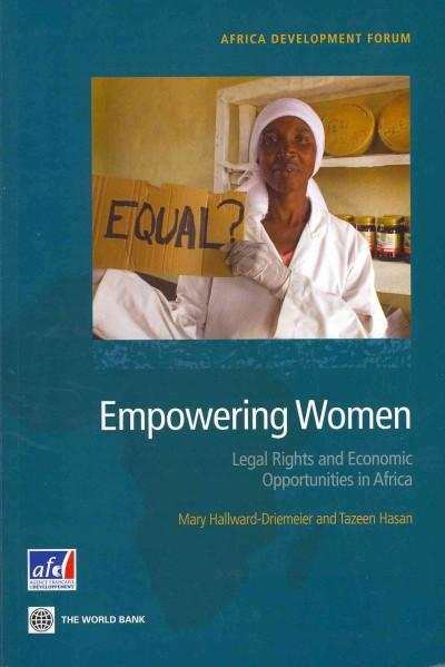 Empowering Women: Legal Rights and Economic Opportunities in Africa (Paperback)