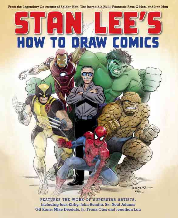 Stan Lee's How to Draw Comics: From the Legendary Co-Creator of Spider-Man, The Incredible Hulk, Fantastic Four, ... (Paperback)