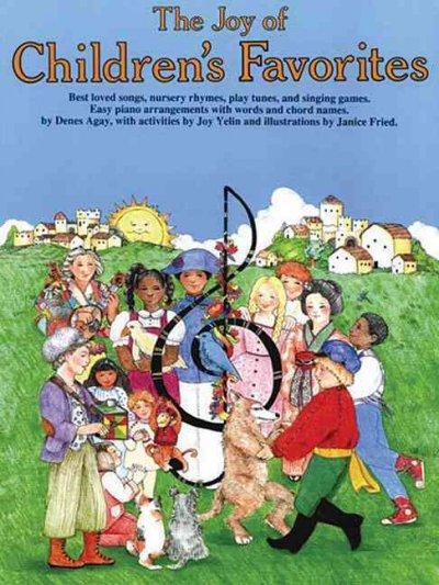 The Joy of Children's Favorites: Piano Solo (Paperback)