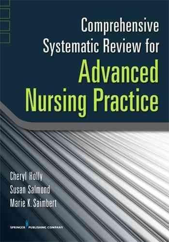 Comprehensive Systematic Review for Advanced Nursing Practice (Paperback)