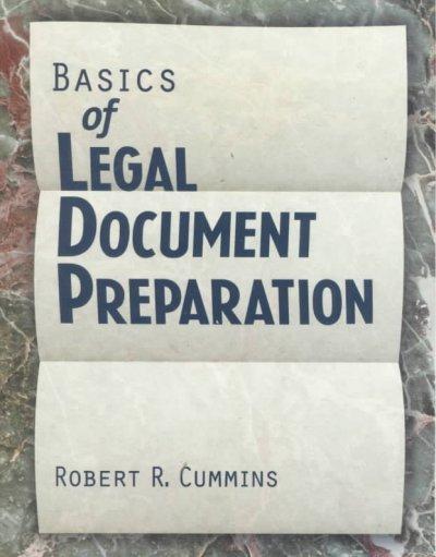 Basics of Legal Document Preparation (Paperback)