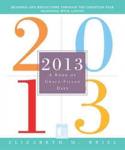 2013 A Book of Grace-Filled Days (Paperback)