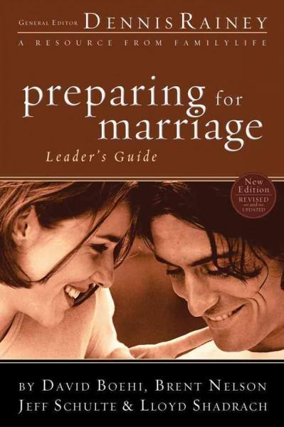 Preparing for Marriage Leader's Guide (Paperback)