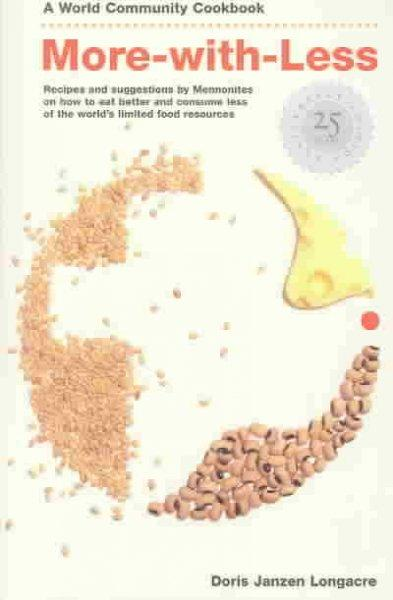 More-With-Less Cookbook (Paperback)