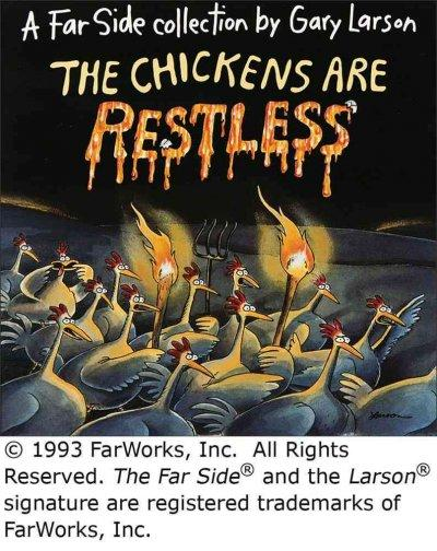 The Chickens Are Restless (Paperback) - Thumbnail 0
