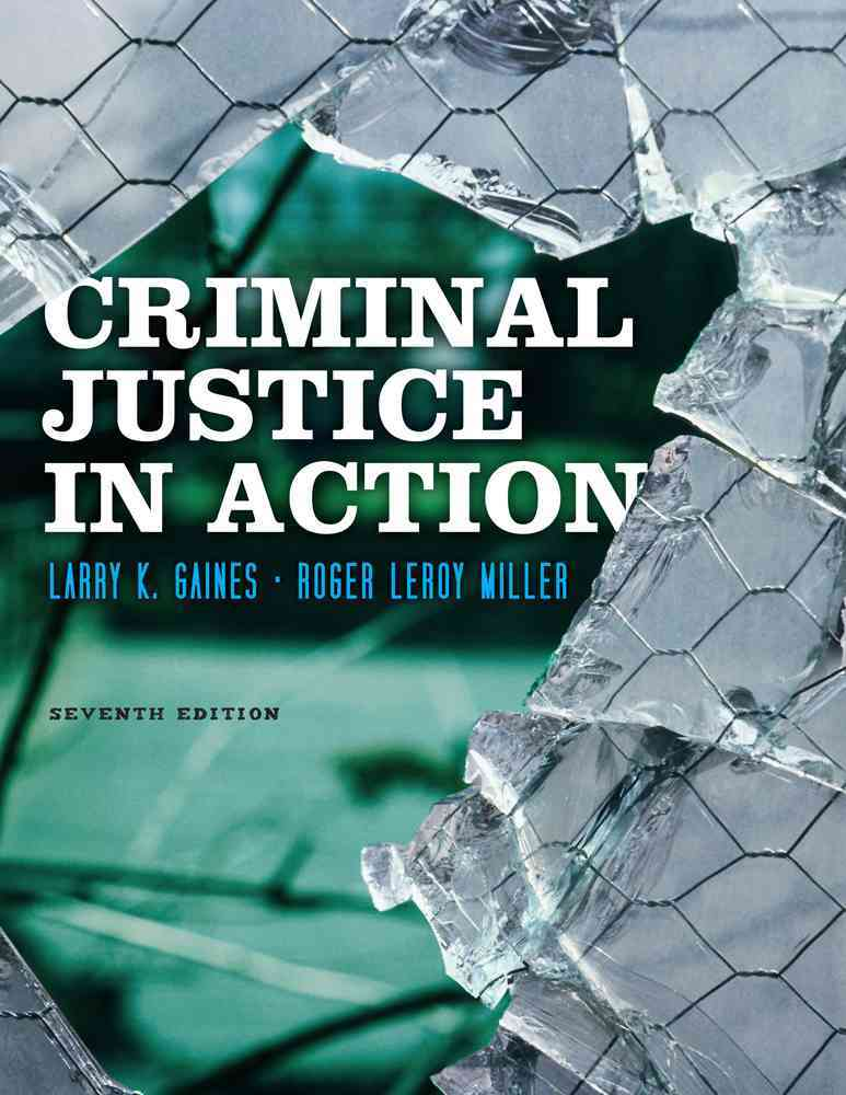 Criminal Justice in Action (Other book format)