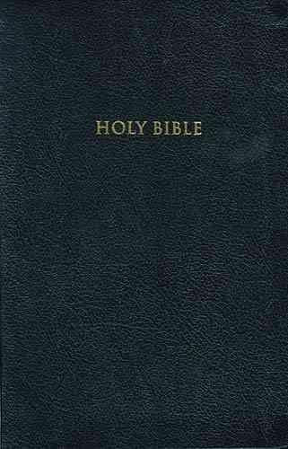 Holy Bible: Personal Size Giant Print/King James Version/Black Leather (Paperback)