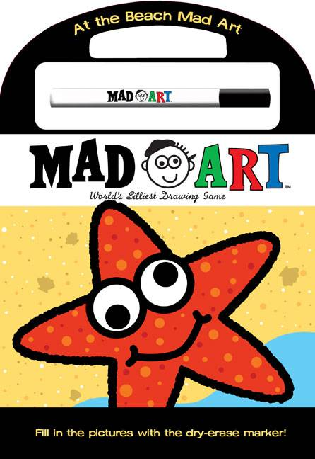 At the Beach Mad Art (Novelty book)