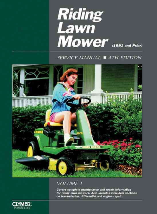 Riding Lawn Mower: Service Manual/Rlms-4 (Paperback)
