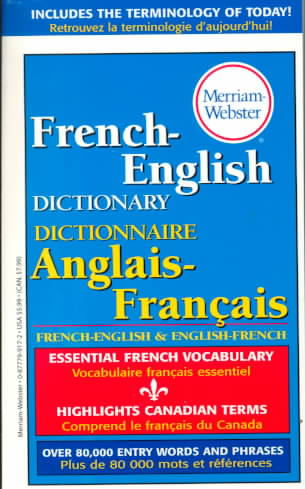 Merriam-Webster's French-English Dictionary (Paperback)