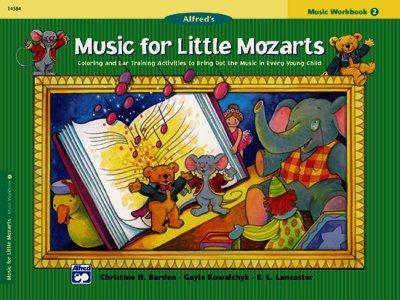 Music for Little Mozarts (Paperback)
