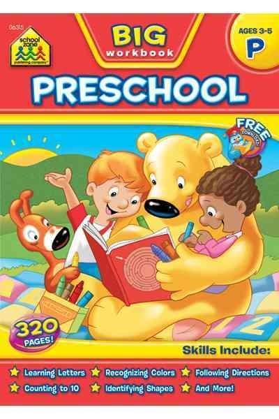 Big Preschool Workbook (Paperback)